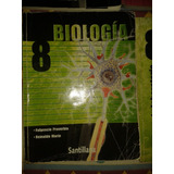 Libro Biología Santillana 8voautor:fulgencio Proverbio