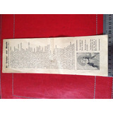 El Cristo Del Maule Volante De 1945 Antiguo Documento