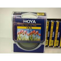 Filtro Polarizador Hoya 52mm Cpl Lente Canon Nikon Sony Fuji