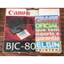 Impressora Portátil Canon Bjc-80 Raridade Para Colecionador.