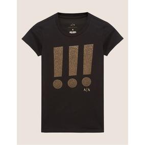399a2f73c9590 Camiseta Armani Exchange Desenho Relogio - Camisetas e Blusas em ...