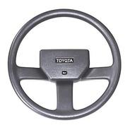 Volante Direção Toyota Bandeirante Preto Ou Cinza