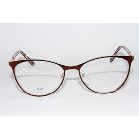 Armação Para Óculos Fiorucci Metal Bronze F1008. São Paulo · Armação Óculos  Grau Feminino Maria Flor A2269- Talia +brinde a6b2c3e6e1