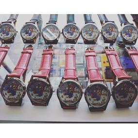 Reloj De Mario Bros ( 2 Unidades ) Envio Gratis