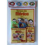 Kit Colorir Com Massinha De Modelar Com 2 Turma Da Monica