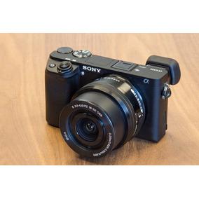 Câmera Nova Sony Alpha A6300 Kit 16-50mm 4k 1 Ano Garantia