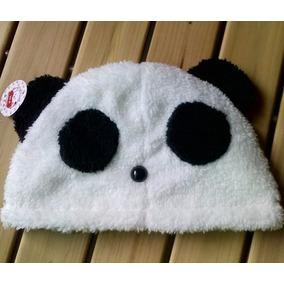 Gorro Mujer Oso Panda Polar