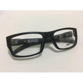 f22eac857a7c3 Oculos Muffler Armação Para Grau C  Logo Verde Masc. -oa202