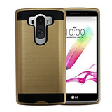 Ohrcell Brushed Metal Case Para Lgg 4pro, Color Oro