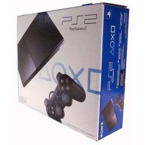 Playstation 2 Novo Destravado + 2 Brindes