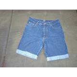 Shorts Jeans Tam. 46 Bermuda Homem Tenho Calça Polo Camisa