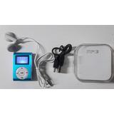 Reproductor Mp3 Pantalla Lcd Clip Auriculares Recargable $