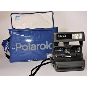 Máquina Fotográfica Polaroid 636 Close Up (anos 90) + Câmera