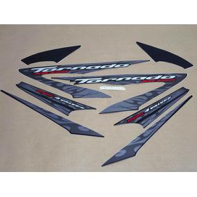 Kit Adesivos Xr 250 Tornado 2008 Preta 10115