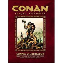 Conan O Libertador Livro Capa Dura Thomas Roy