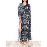 Vestido Carlisle - Largo - Manga Larga - Indian Emporium