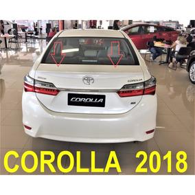 Aerofolio Toyota Corolla 2017 2018 Exclusivo Luxo Sportdin