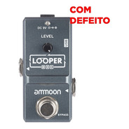 Pedal Loop Looper Ammoon Com Defeito