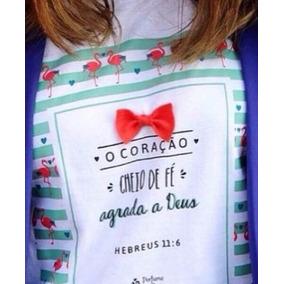 T-shirt Perfume Para Deus