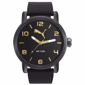 Reloj Puma Hombre Caballero Negro 48mm Original Envio Gratis