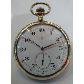 f11a41fb3fc Coluna Omega Com Relogio - Relógios De Bolso no Mercado Livre Brasil