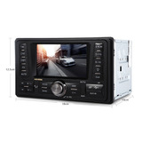 Autoradio Pantalla 4.3, Fm/mp3/mp4/audio/video/usb/sd/auxil