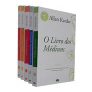 Coleção Allan Kardec 05 Livro + Brinde