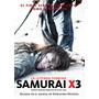 Dvd Samurai X 3 Ruroni Kenshin - Nobuhiro Watsuki Nueva Estr