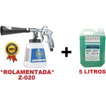 Kit Pistola + Produto Para Como Fazer Lavagem A Seco Em Sofá