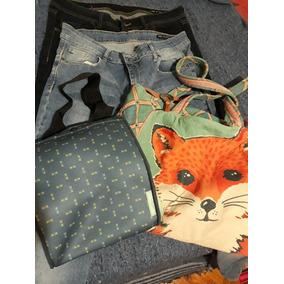 Lote Ropa Premium Jeans Ver Bolsos Simones + Lote Bijou