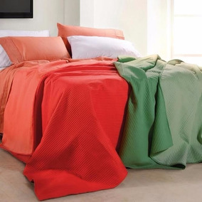 Cubrecama King Size Cover Colcha Verano Palette Look 2x2 M
