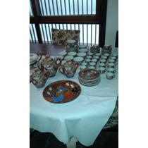 Antigua Porcelana Japonesa Satsuma 79 Piezas