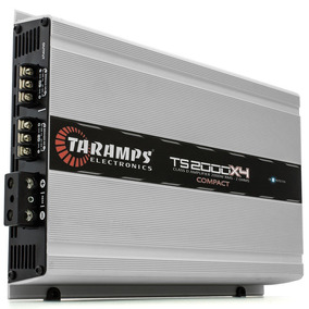 Módulo Digital Taramps Ts-2000x4 Comp 4ch 2000 Wrms - 2 Ohms