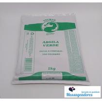Argila Medicinal Verde Facial Corporal 1kg Geo - Original