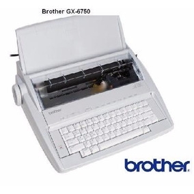Máquina De Escribir Eléctrica Brother -gx-6750