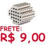 Imã De Neodímio / 5mm X 4mm - 2 Peças / Frete R$ 9,00