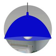 Lampara Colgante Led Pvc Colores E27 Techo Iluminacion