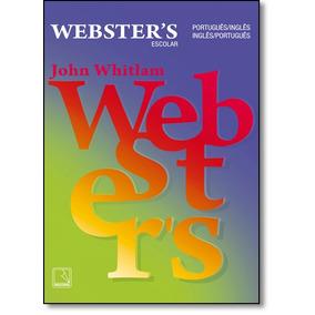 Livro - Dicionrio Escolar Webster S: Portugus - Ingls - Port