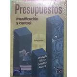 Presupuestos Planificación Y Control. Pearson, Incluye Cd