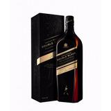Johnnie Walker Double Black Whisky 1 Litro En Caja