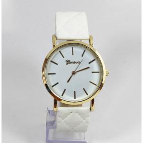 Relógio Feminino Casual Couro Lindo Moda Top Frete Grátis!!