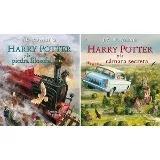 Lote X 2 Harry Potter Ilustrado Salamandra Tapa Dura