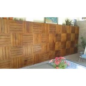 Deck De Madera Eucaliptus Baldosa 50x50 Cm Ramos Mejia