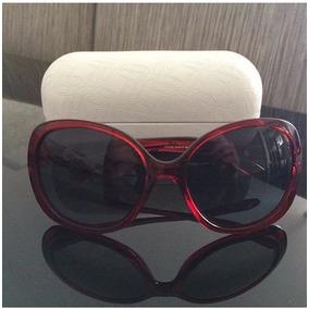 Oculos De Sol Importado Oakley Backhand Oval Vermelho!!!
