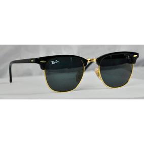 Lentes Ray-ban Clubmaster 3016 Negro 100% Originales