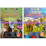 Oferta : Libros Guía Visual 3d La Biología Mas La Tierra
