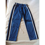Calça Infantil Menino Azul 100% Poliester Hs Surf Tamanho 8
