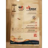 Calentador Instantaneo Boiler Cinsa Cin-06b Gas Natural
