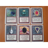 Cartas Magic Antiguas Proxy #3 (black Lotus, Mox Ruby Y Mas)