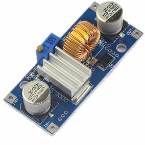 Modulo Regulador De Tensão Dc-dc Xl4015 5a Com Dissipador
